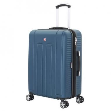 Фото Синий чемодан среднего размера Vaud