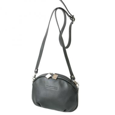 Фото Дамская мини-сумочка черная 3507