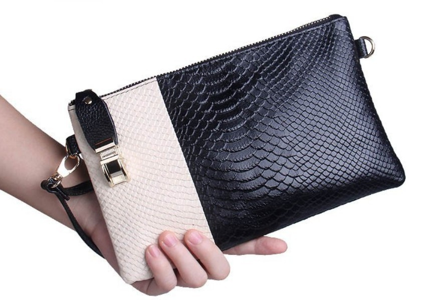 womens clutches Bag Real Leather