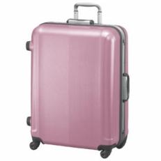 Чемодан пластиковый 00363 07 pink