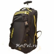 Сумка-чемодан на колесах 336351 черная
