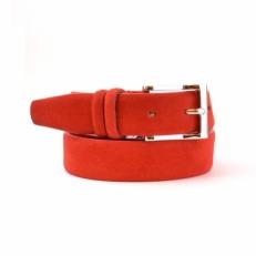 Ремень брючный  350816 красный