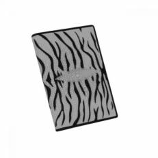 Обложка для паспорта из кожи ската, цвет: белый тигр