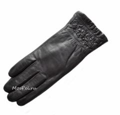 2084  Кожаные женские перчатки