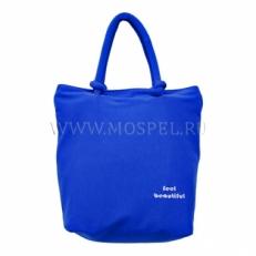 Пляжная сумка  10051-BE синяя