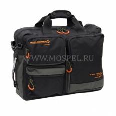 Дорожная сумка-рюкзак 01222316 черная