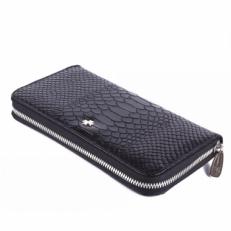 Кожаное портмоне Narvin 9591 Anaconda Black