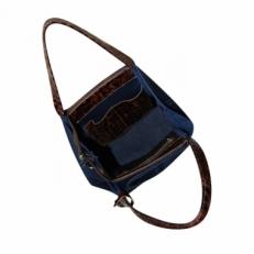 Кожаная сумка без подкладки KSK 3197 фото-2