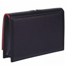 Черная сумка-клатч Narvin 9957 N.Polo Black фото-2