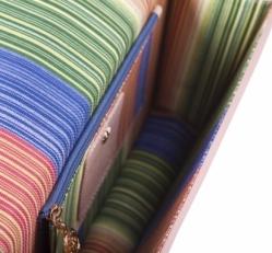 Светлая сумка-клатч Narvin 9957 N.Polo Pudra фото-2