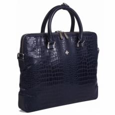 Кожаная сумка Vasheron 9754 Aligro Indigo