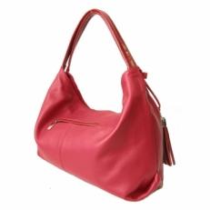 Мягкая женская сумка KSK 3091 красная фото-2