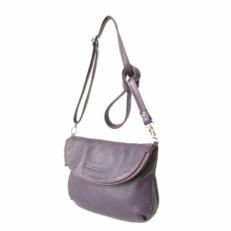 Женская сумка через плечо KSK 401.2 фиолетовая
