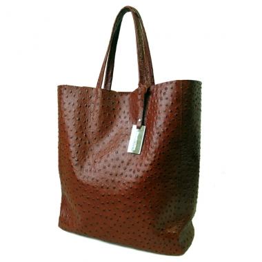 Фото Кожаная сумка шоппер KSK 3002